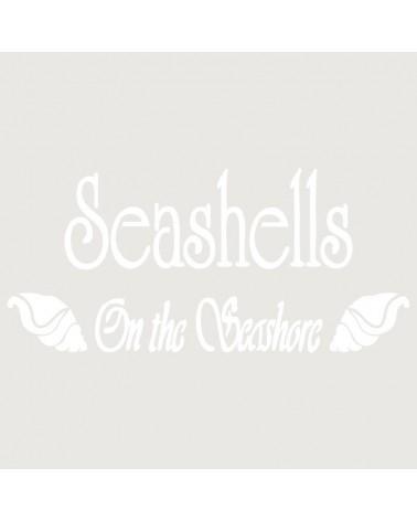 Stencil Composicion 140 Sea Shells