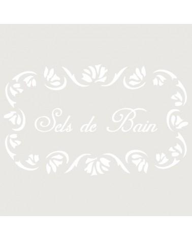 Stencil Composicion 142 Sels Bain