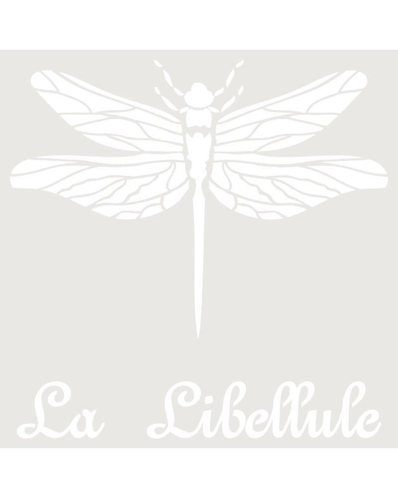 Stencil Composicion 143 Libelula