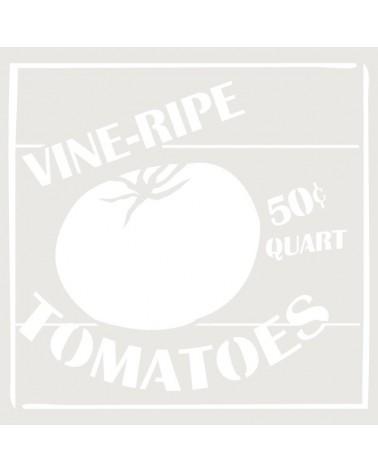 Stencil Composicion 145 Tomatoes