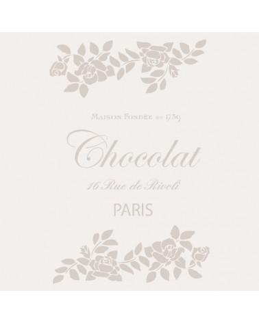 Stencil Composicion 151 Chocolat Paris