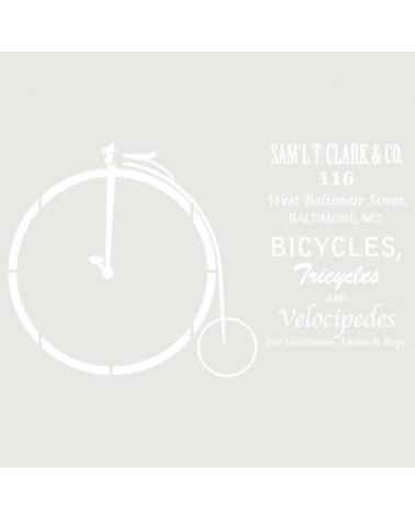 Stencil Composicion 155 Bicicleta