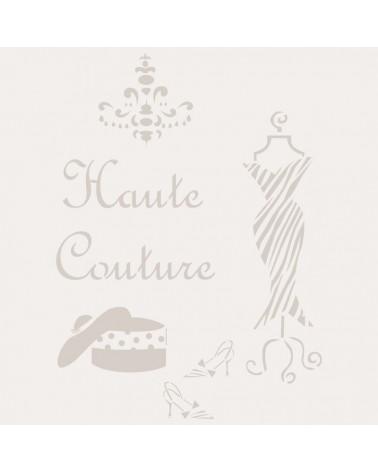 Stencil Composicion 157 Haute Couture
