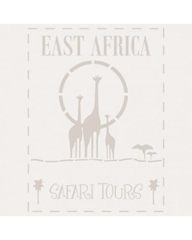 Stencil Composicion 158 East Africa