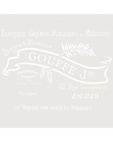 Stencil Composicion 168 Goffe