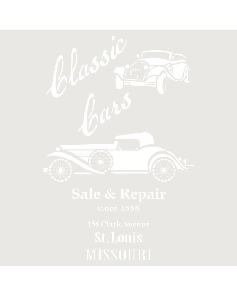 Stencil Composicion 178 Classic Cars