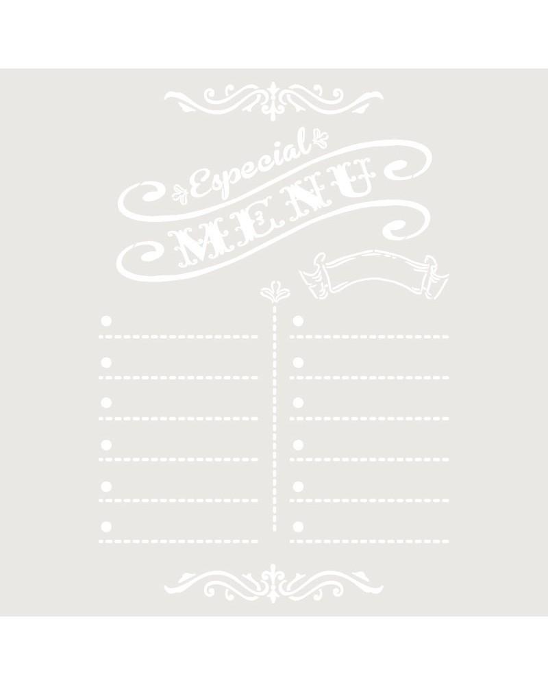 Stencil Composicion 179 Special Menu