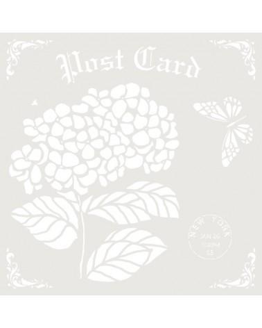 Stencil Composicion 180 Post Card