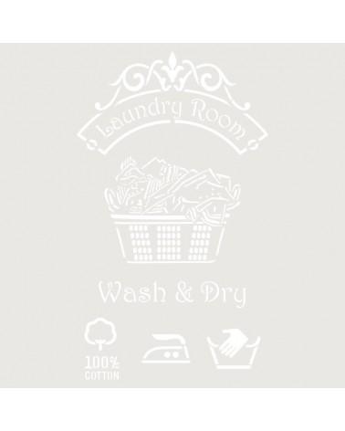 Stencil Composicion 186 Laundry Room