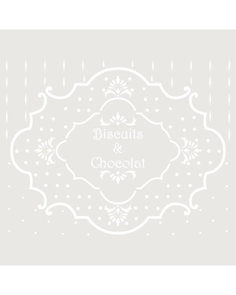 Stencil Composicion 192 Biscuits
