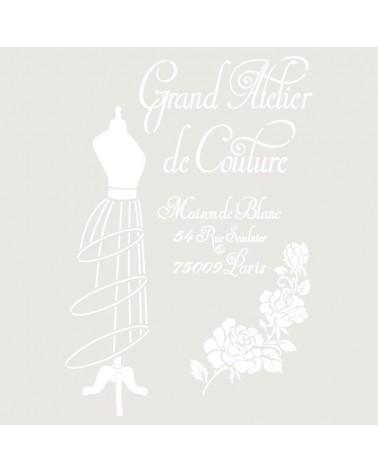 Stencil Composicion 206 Grand Atelier