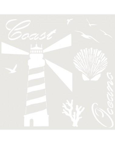 Stencil Composicion 216 Oceano