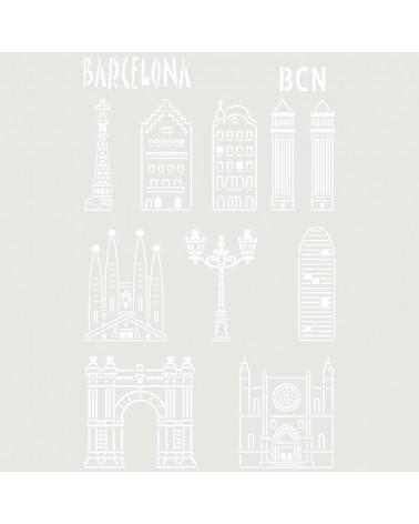 Stencil Composicion 217 Barcelona
