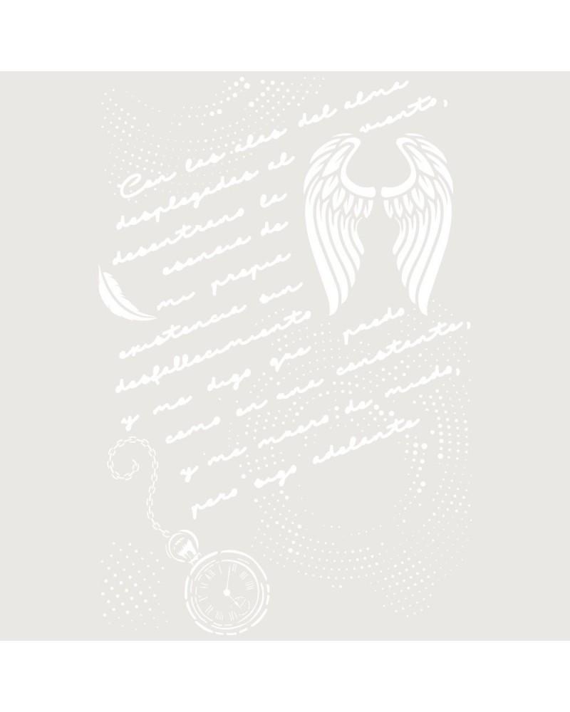 Stencil Composicion 221 Manuscrito