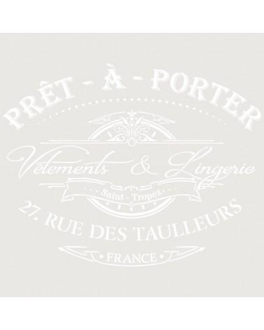 Stencil Composicion 225 Pret a Porter