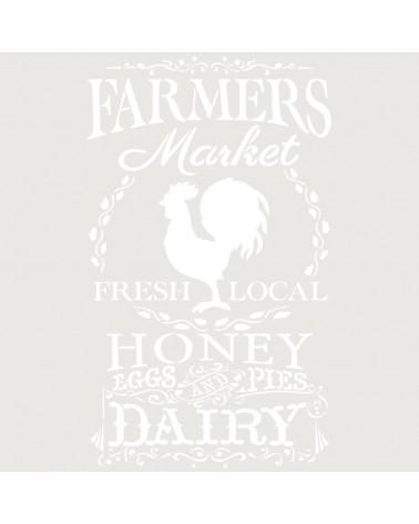 Stencil Composicion 226 Farmers