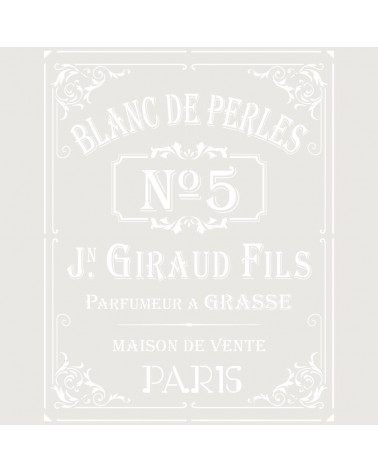 Stencil Composicion 228 Blanc de Perles