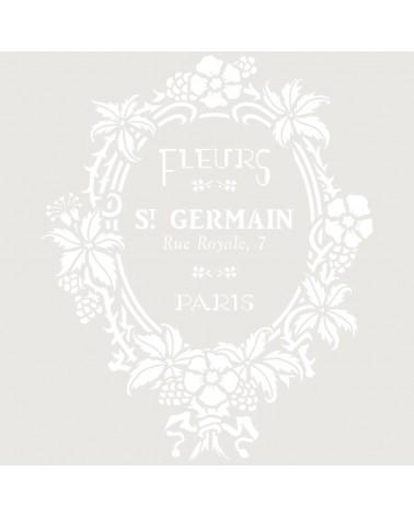 Stencil Composicion 230 Fleurs