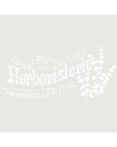 Stencil Composicion 238 Herboristerie