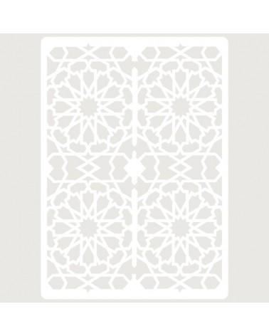 Stencil Embossing 029 Celosia Arabe