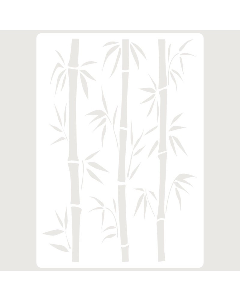 Stencil Embossing 056 Bambu