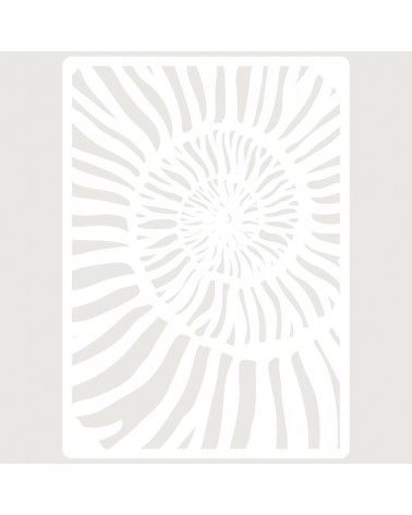 Stencil Embossing 060 Caracola