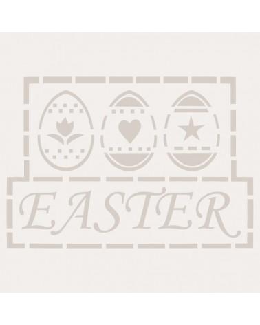 Stencil Fiesta 001 Tres Huevos Pascua