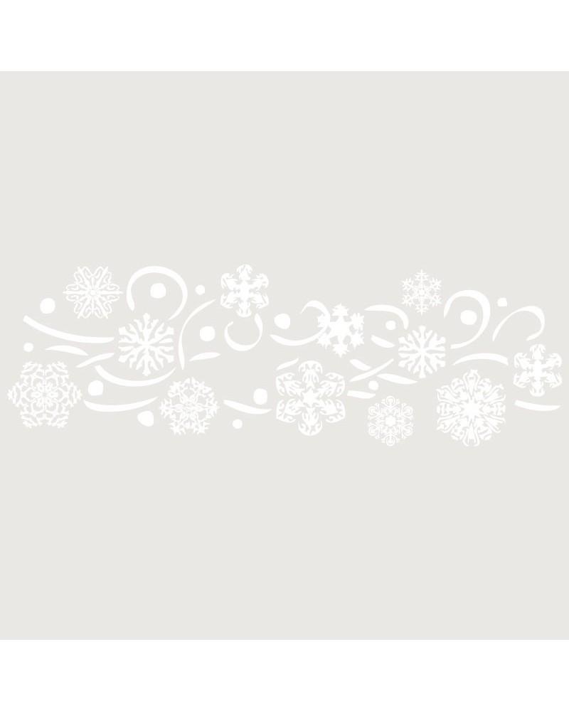 Stencil Fiesta 007 Navidad Flores