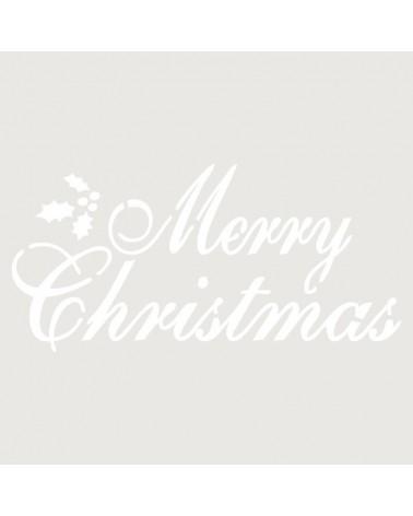 Stencil Fiesta 015 Merry Cristmas