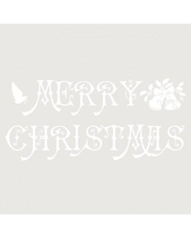 Stencil Fiesta 020 Merry Cristmas 2