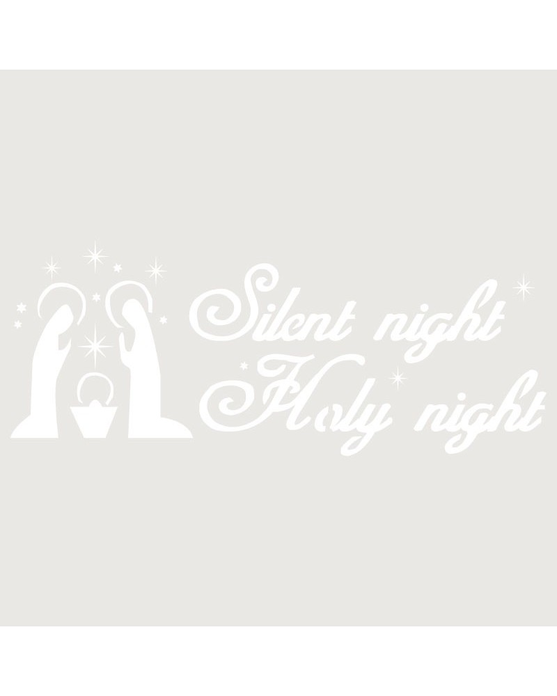 Stencil Fiesta 021 Silent Night