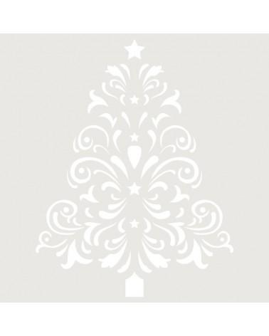 Stencil Fiesta 025 Navidad Arbol