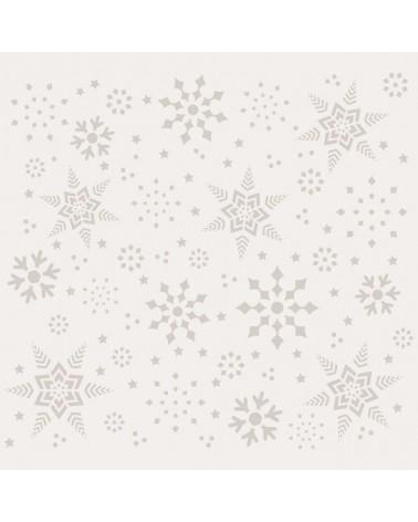 Stencil Fiesta 039 Copos de Nieve