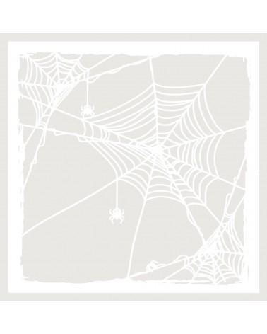 Stencil Fiesta 048 Halloween Tela de araña