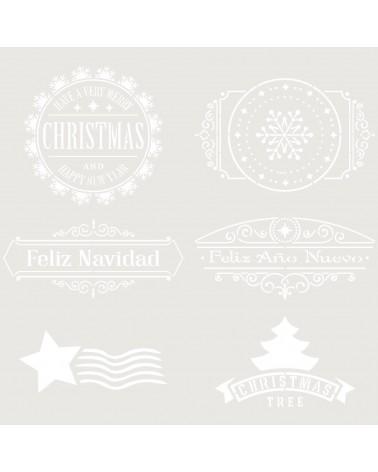 Stencil Fiesta 051 Navidad Cuños