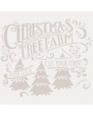 Stencil Fiesta 053 Navidad Farm