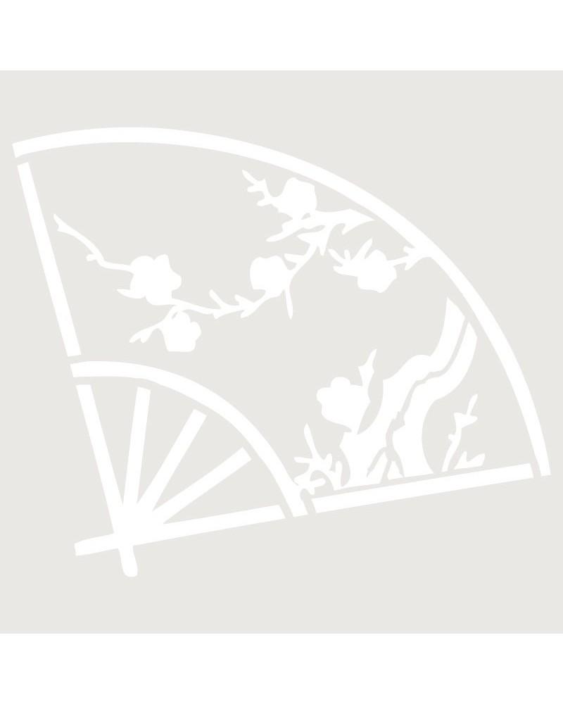 Stencil Figura 001 Abanico