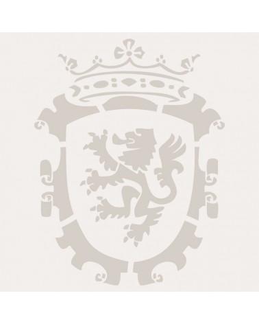 Stencil Figura 008 Escudo Con Leon