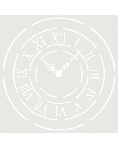 Stencil Figura 011 Reloj