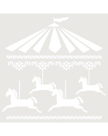 Stencil Figura 013 Carrusel
