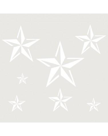 Stencil Figura 022 Estrellas