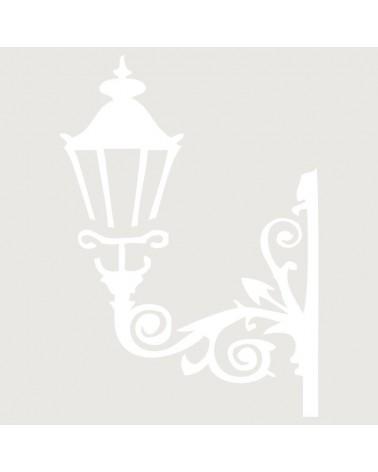 Stencil Figura 024 Farola Pared