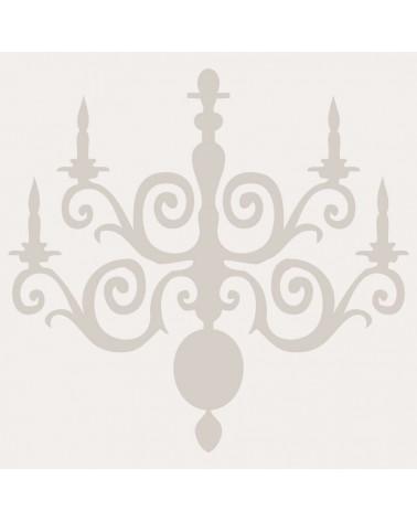 Stencil Figura 027 Lampara Vela