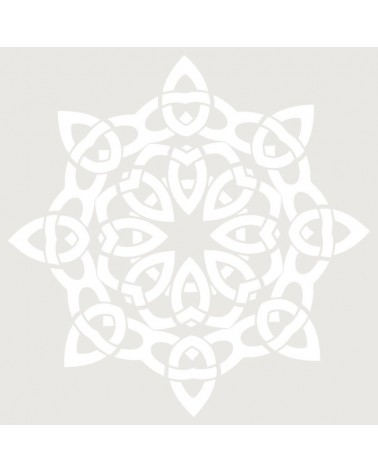 Stencil Figura 031 Mandala V2