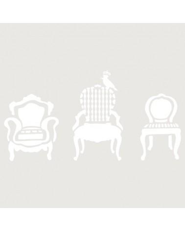Stencil Figura 032 Sillas Sillones