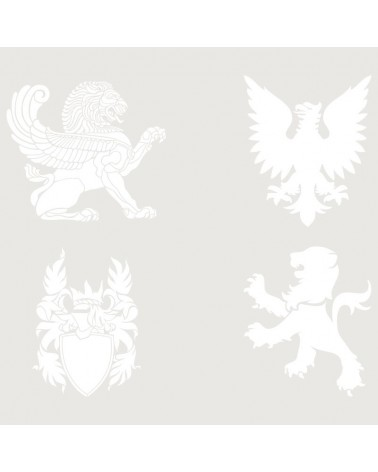 Stencil Figura 042 Leones