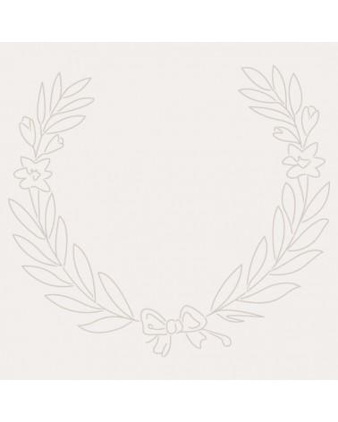 Stencil Figura 046 Corona Laurel