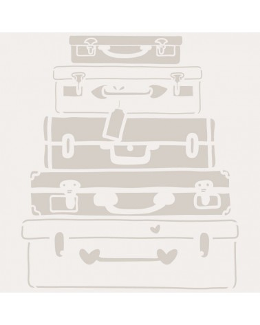 Stencil Figura 053 Maletas