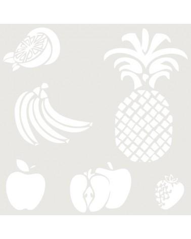 Stencil Figura 055 Fruta