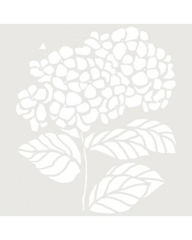 Stencil Figura 057 Hortensia